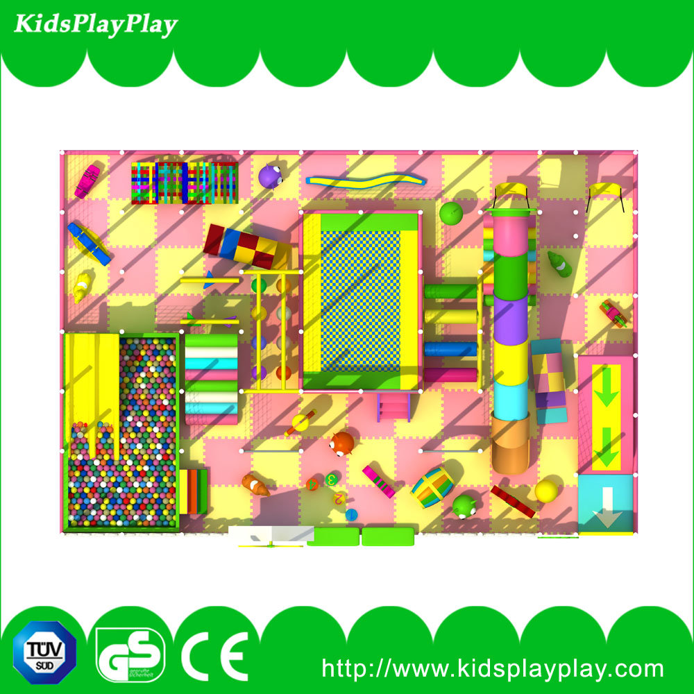Hot Funny Amusement Park Kids Indoor Playground for Sale