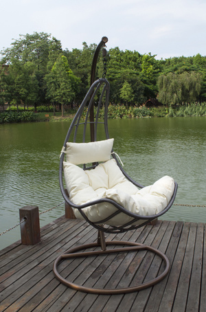 Living Room Furniture Type Indoor Rattan Hanging Egg Chair
