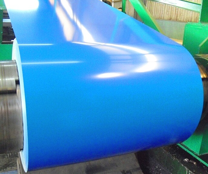 High Quality Color Coated Steel PPGI Sheet in Coil 0.135-0.6mm*750-1250mm
