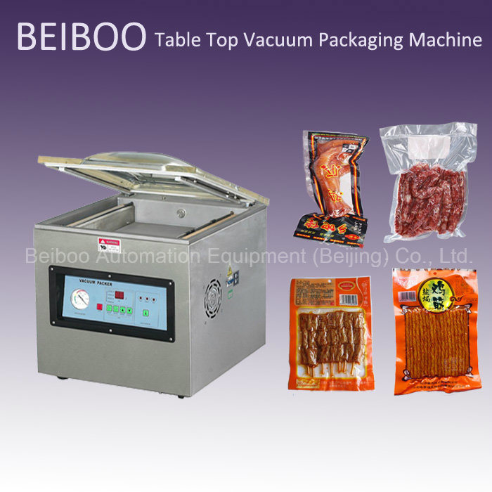 Desktop Single Chamber Vacuum Sealing Packaging Machine