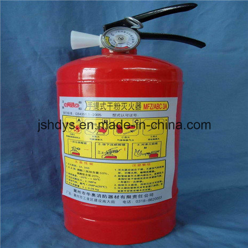 Portable Dry Power Fire Extinguisher (EN3)