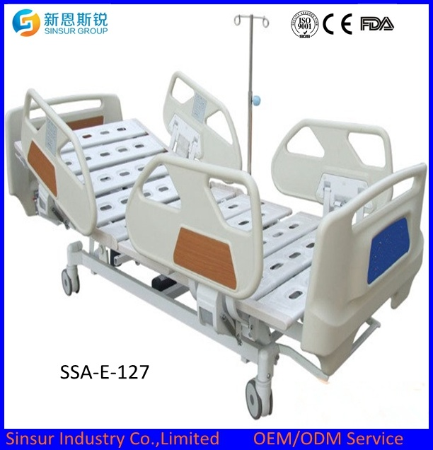 ISO/CE Certified Multi-Function Adjustable Hospital Furniture Electric Medical Bed