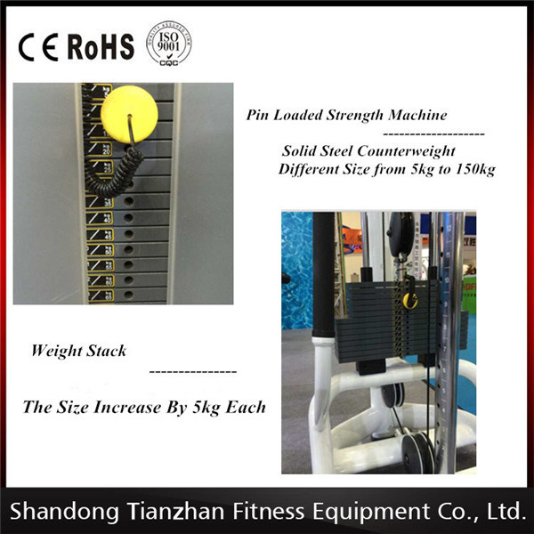 Commercial Gym Machine / Tz-6045 Two Layer Dumbbell