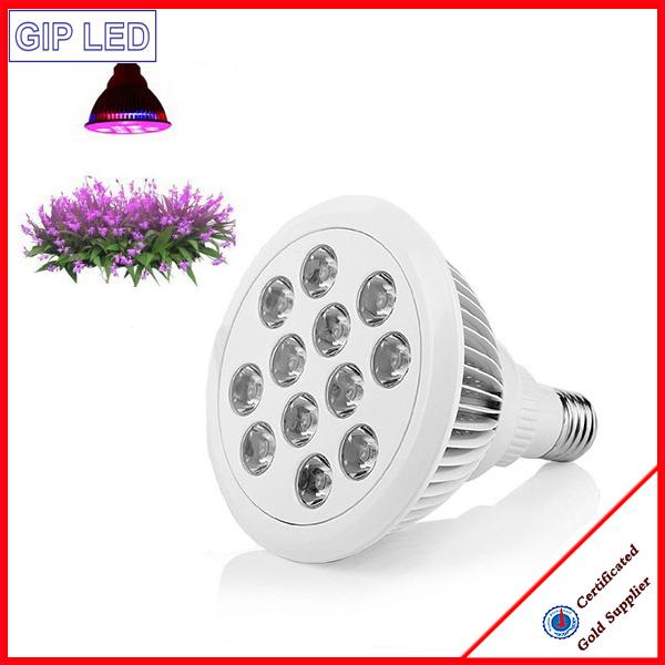12W E27 PAR38 LED Grow Light for Family Indoor Plant