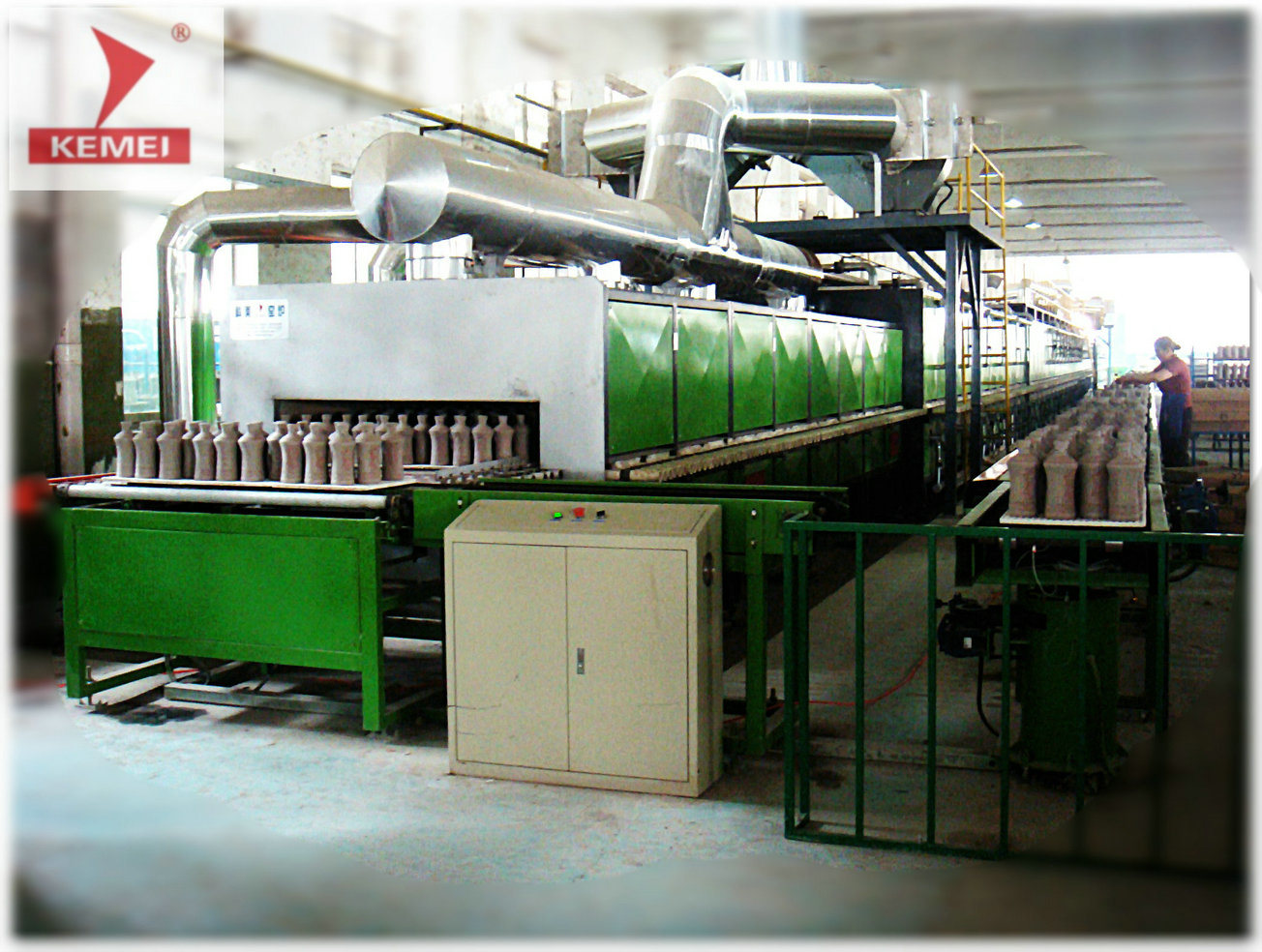 Roller Kiln for Bone China Giftware