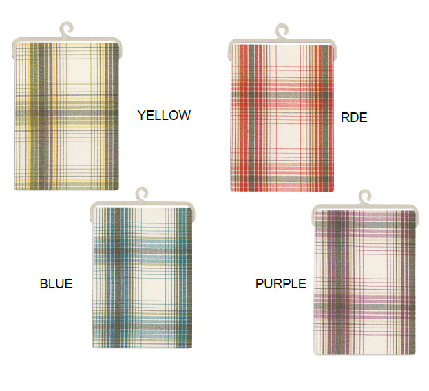 Kitchenware Plaid Woven Fabric Tablecloth