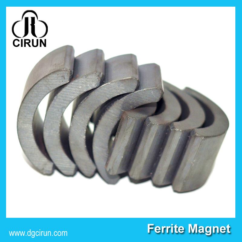 Wholesale 380 390 Arc Ferrite Motor Magnet