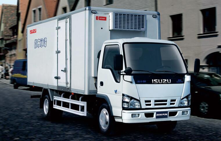 Isuzu 600p Single Row Light Van Refrigerator Truck