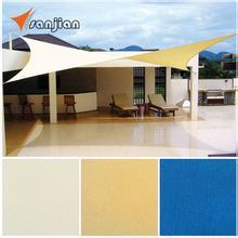 China Direct Manufacturer 100% New HDPE Shade Sail for Different Colors