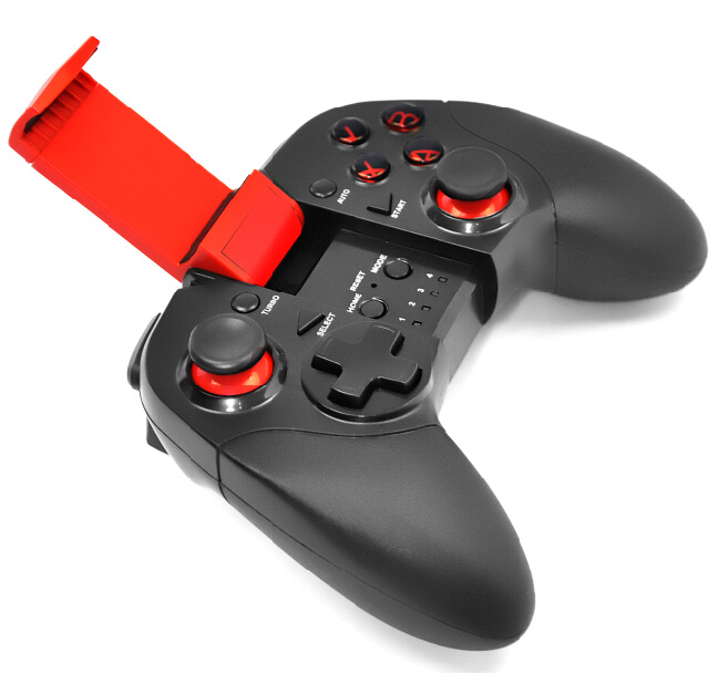 Saitake Bluetooth Game Controller with Clip Joystick Type with Platform for Android Mobile Games Stk-7004X