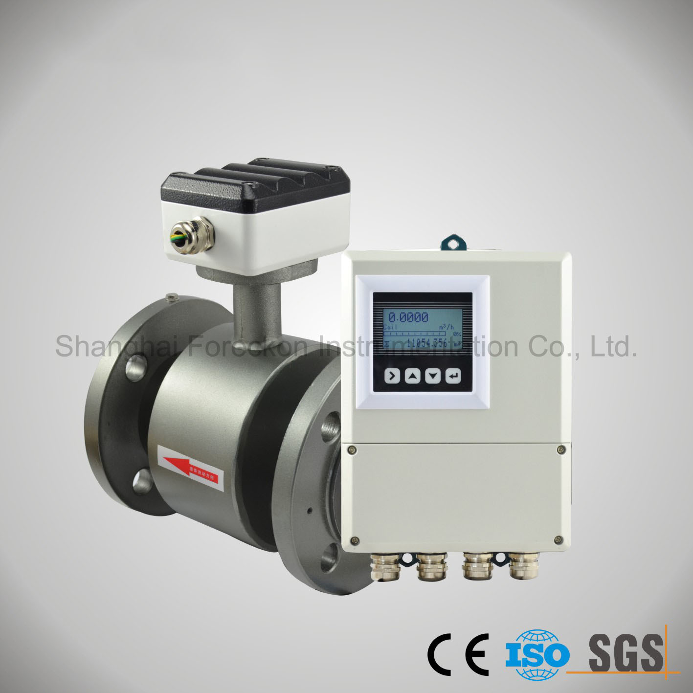High Accuracy Water Electromagnetic Flowmeter (JH-DCFM-SS)