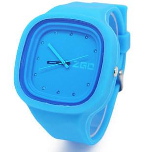 Cuatom Abrasion Resistance High Quality Silicone Sport Watch (XY-HR-76)