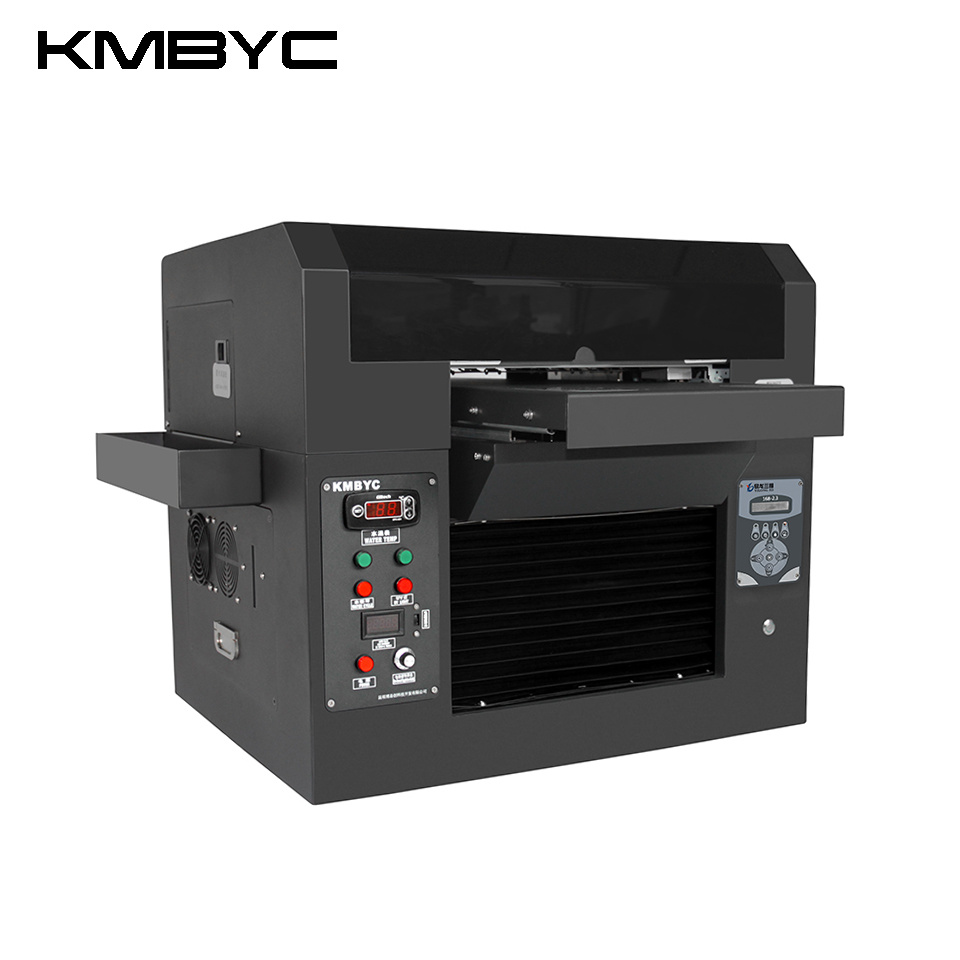 Kmbyc A3 Size 6 Colors Flatbed UV Printer