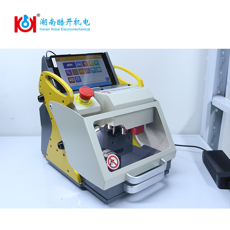 New Arrival Sec-E9 The Best Locksmith Tool Key Cutting Machine Made in China with Removable Tablet PC