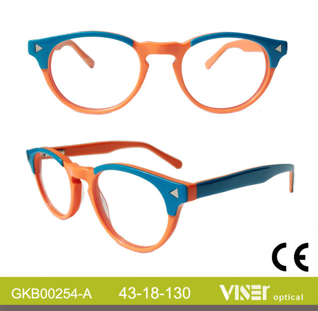 Fashion Kids Handmade Acetate Optical Frames (254-A)