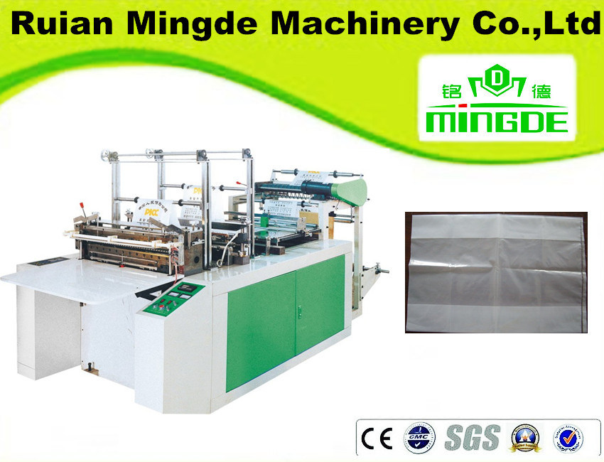 Heat Sealing and Cold Cutting Plain Bag Making Machine