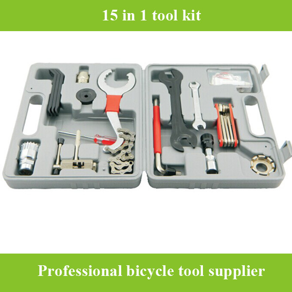 2016 High Quality Bicycle Repair Tools Box Set