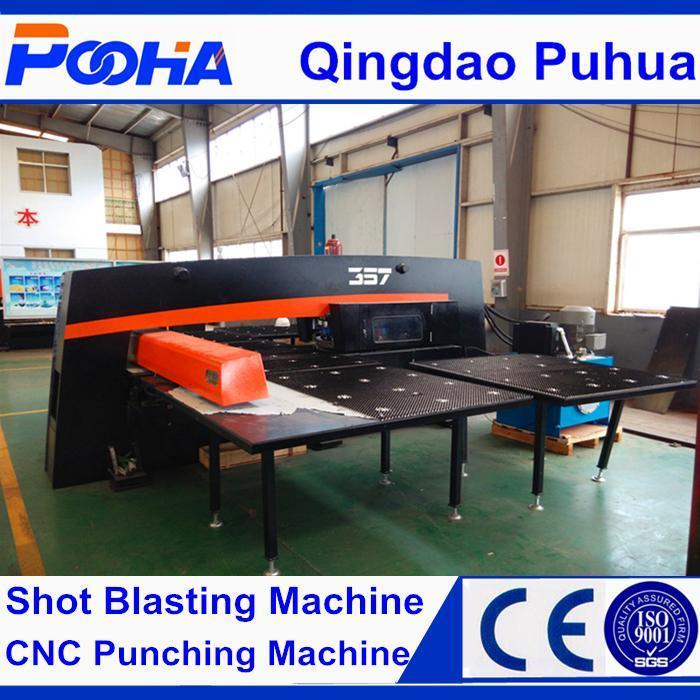 China AMD-357 CNC Equipment Hydraulic CNC Turret Punching Machine