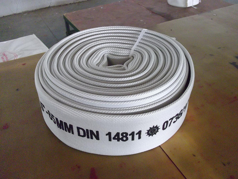 China Manufacture Fire Hose Lining Rubber/ PVC / PU
