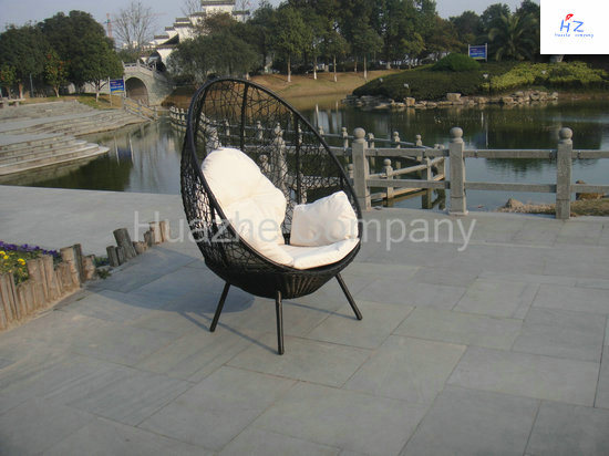 Rattan Lying Bed Outdoor Backyard Wicker Rattan Patio Furniture