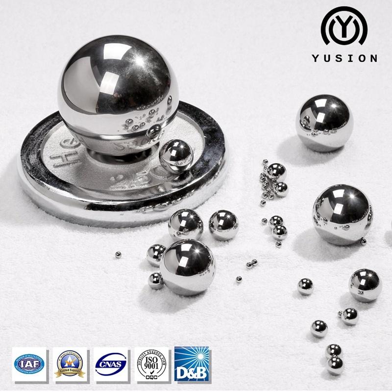 Yusion AISI52100 Suj-2 Gcr15 Chrome Bearing Steel Ball for Bearing
