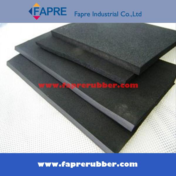 Black Red Nr Neoprene SBR NBR Silicone EPDM Rubber Board