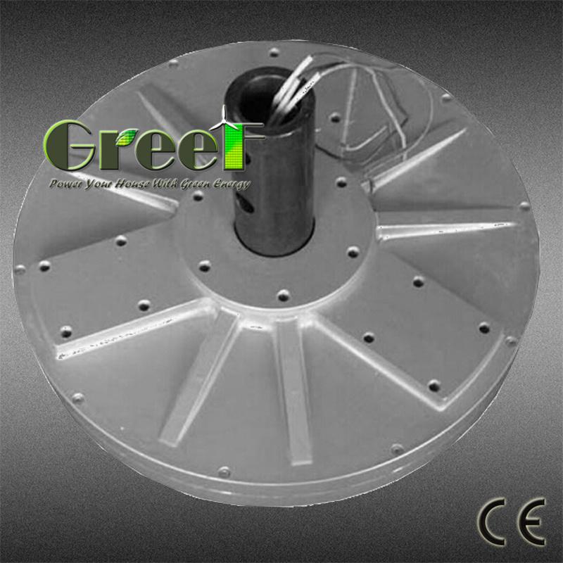 5kw 10kw Vertical Axis Coreless Permanent Magnet Generator for Vawt