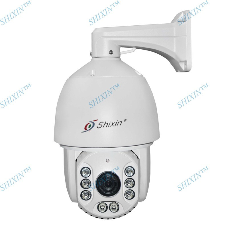 Full HD 1080P 2.0MP Megapixels IP Camera High Speed Waterproof Sony 30X Zoom 8PCS IR PTZ Dome CCTV IP Security Camera