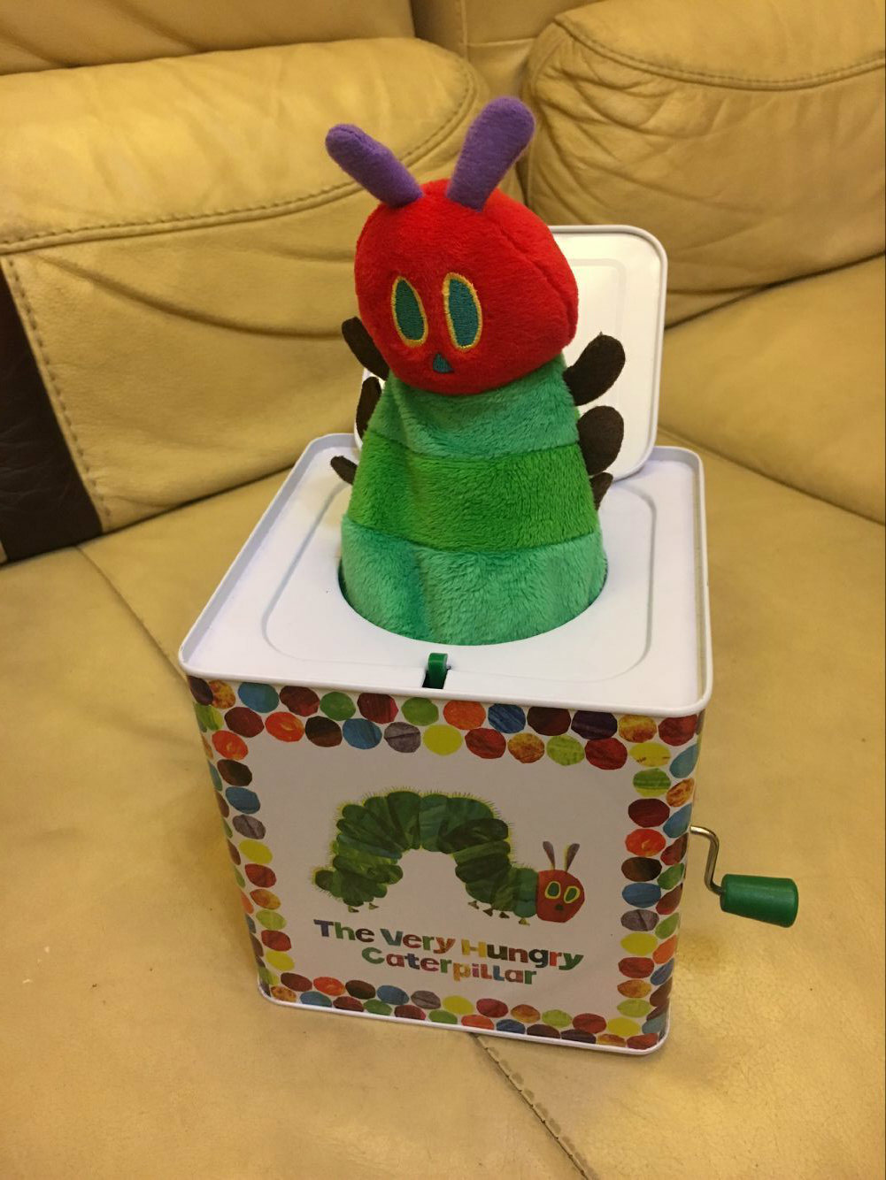 Wholesale Jack in The Box Tin Toy with Custom Music