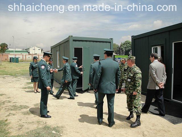 Modular Barracks/Prefab Barracks/Military Camping (shs-fp-camp064)