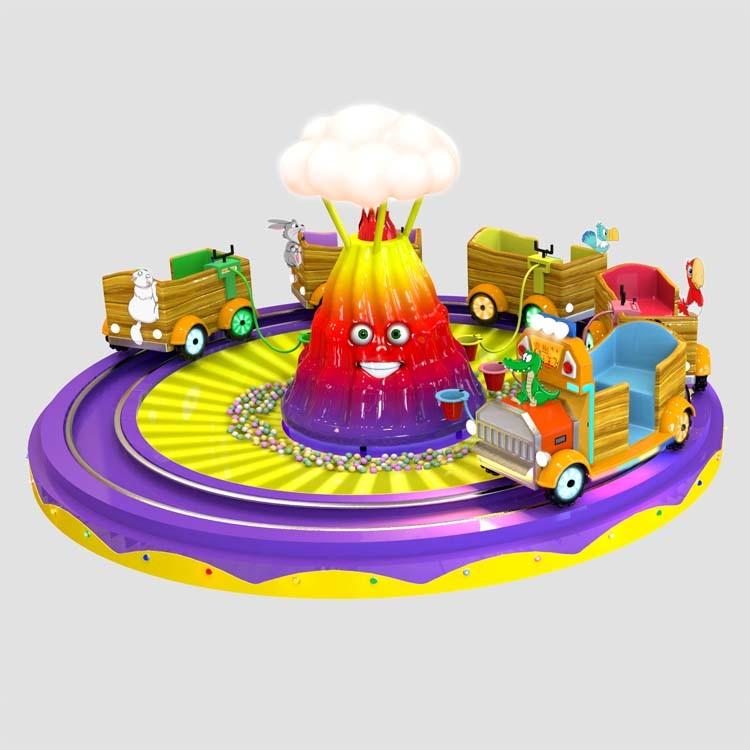 Hot Selling Amusement Game Machine Kiddie Carousel for Children Playground (C043)