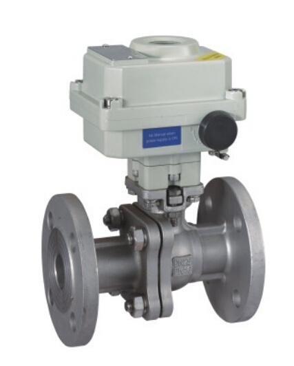 Motorized Flanged Ball Valve with Explosion Proof