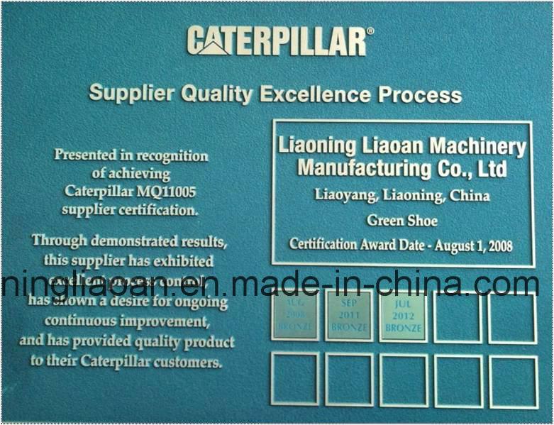 Caterpiilar ′s Appointed Bulldozer Steel Track Shoe Supplier for Caterpillar Komatsu Volvo Hitachi Hyundai, Kato, Case