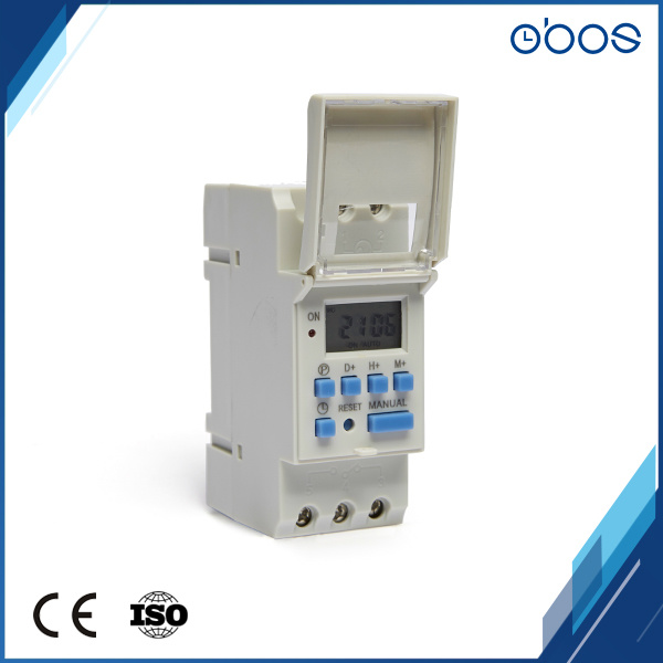 The Large LCD Display 16times on/off Programmable Digital Timer Switch