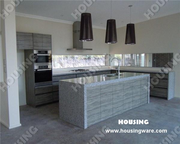 China Modern Laminate Sheet Kitchen Cabinets With Island Cabinet