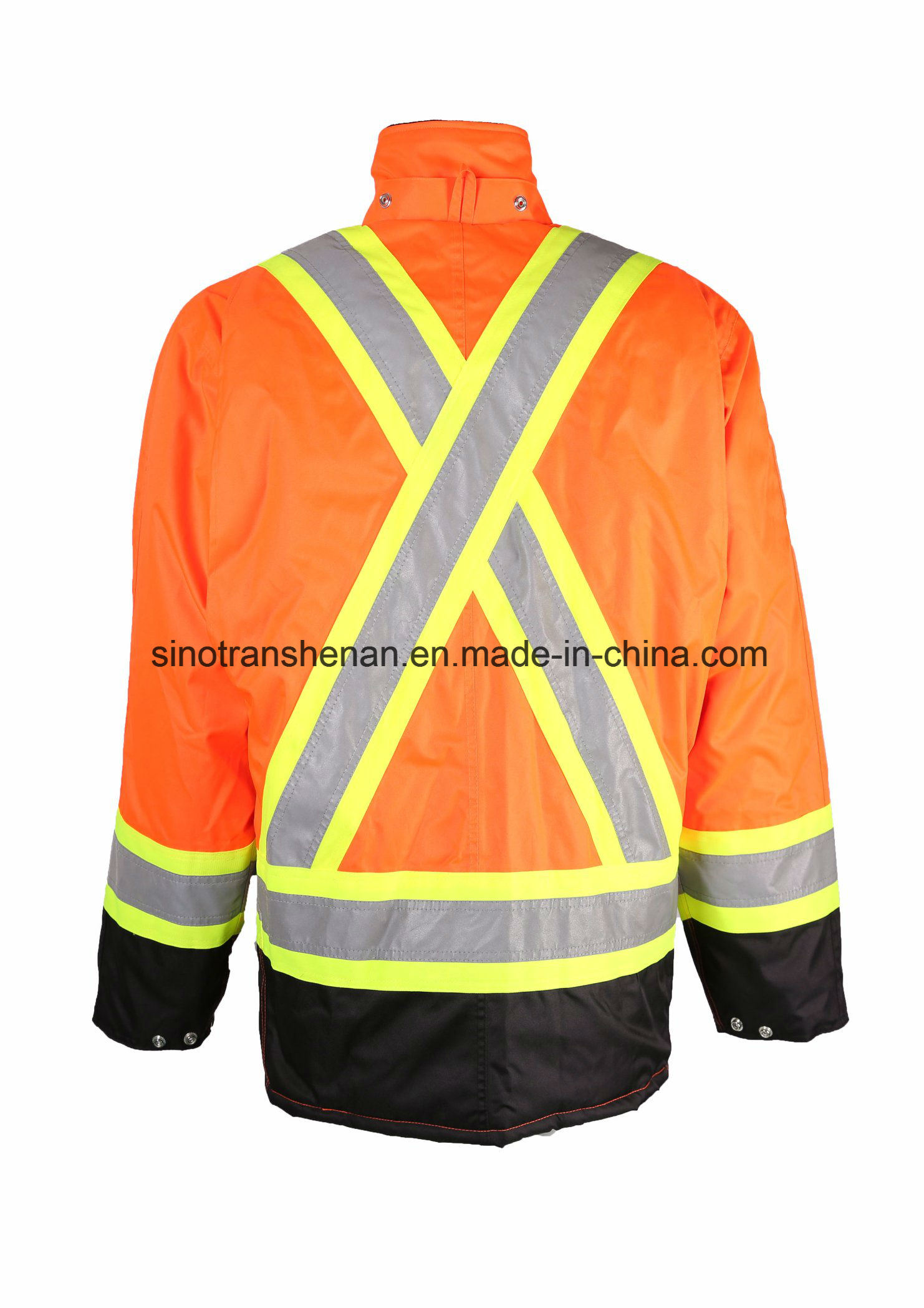 Hi-Vis Jacket Thermal Jacket 100% Polyester Waterproof