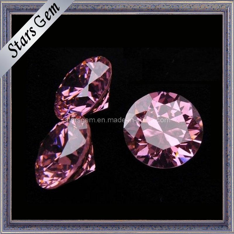 AAA Round Brilliant Cut Cubic Zirconia Gemstone Beads Jewelry