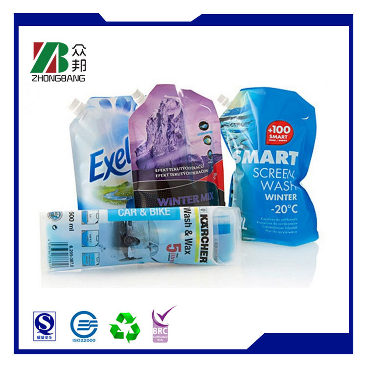 Pet Ny PE 15 Micron Washer Liquid Packaging