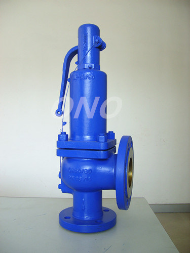 DIN Spring Cast Steel Safety Valve Flange Relief Valve