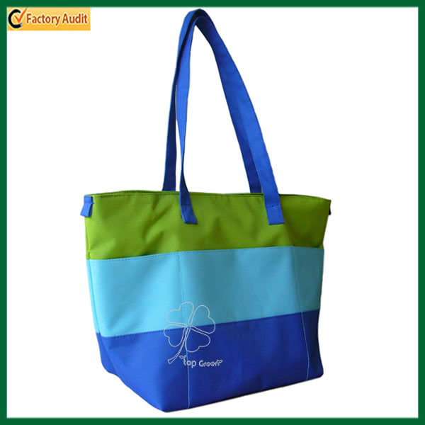 Cheap Promotional Waterproof Nylon Zip Tote Bags (TP-TB101)