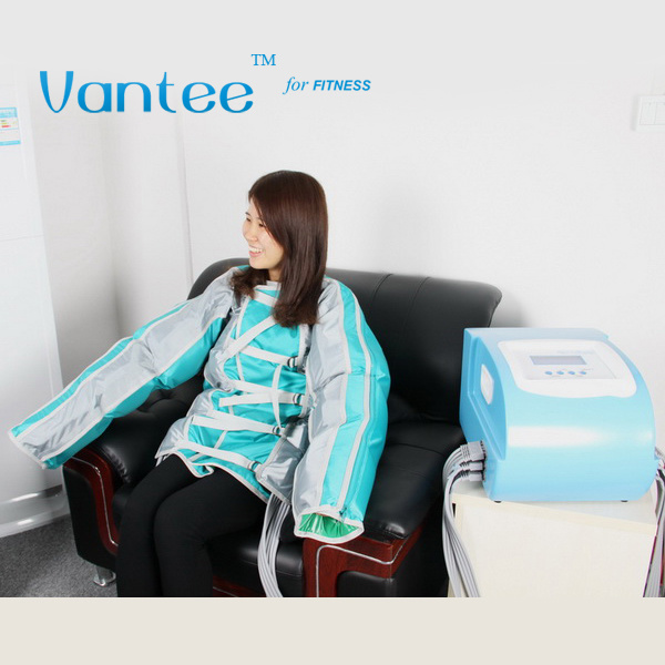 24 Air Bags Jacket Infrared Pressotherapy Lymph Drainages Pressotherapy Slimming Machine