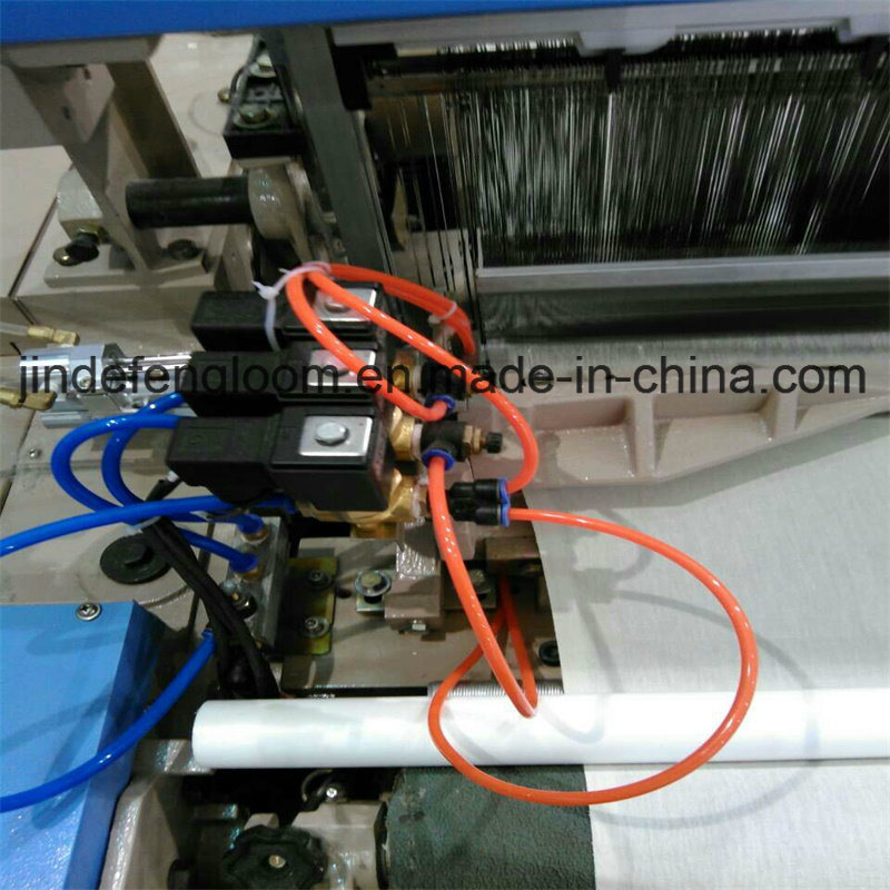 2 Color Electronic Feeder Air Jet Loom with Staubli or Bintian Cam