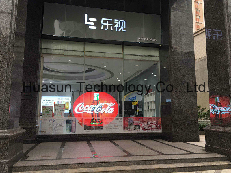 (Trans-Eyes) Glass LED Video Wall HD Transparent LED Display for Advertising