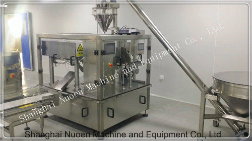 Powder Measurement Packaging, 8 Workstation Automatic Food Packaging Machine