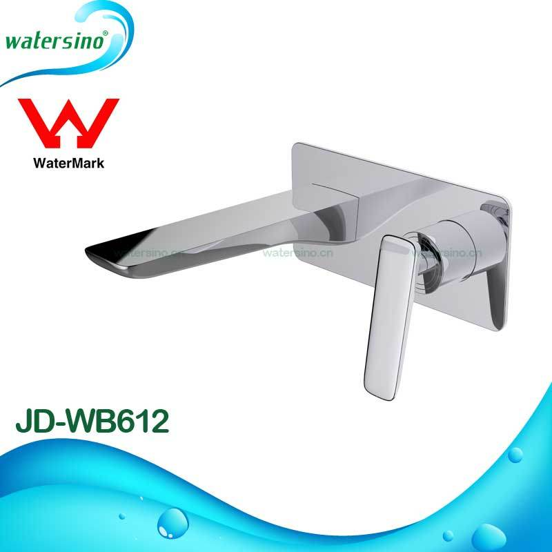 Wall Mounted Brass Bathroom Sanitary Ware Water Basin Spout