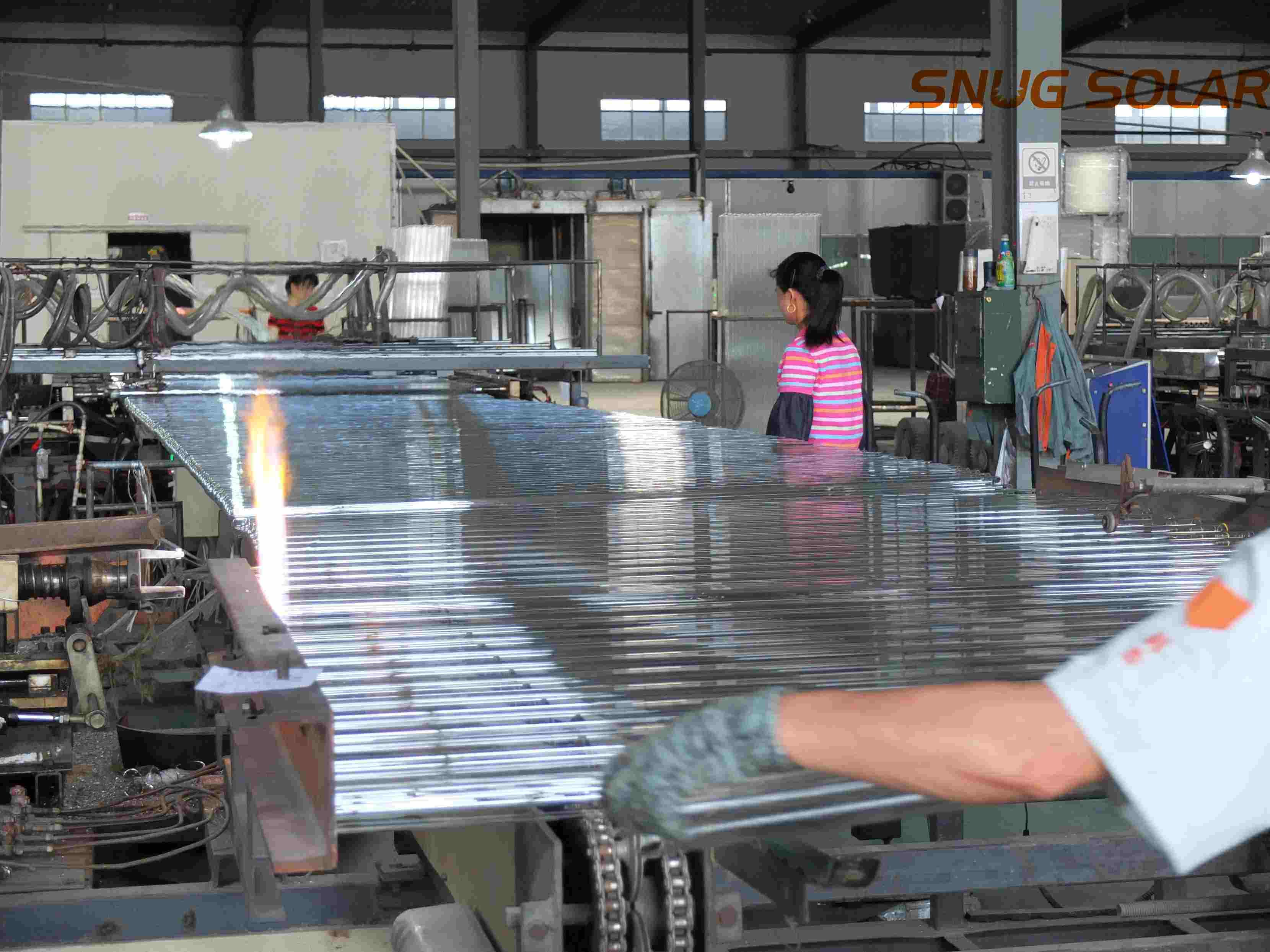 Three Target Solar Glass Vacuum Tube for Solar Water Heater (etc tube)