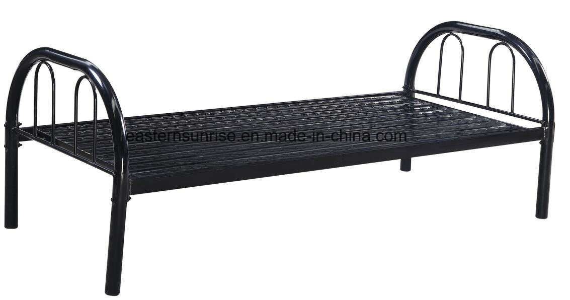 High Quality and Cheap Heavy Duty Metal Single Bed