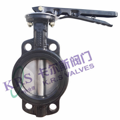 Without Pin Wafer Soft Sealing Butterfly Valve (WD71X-10)