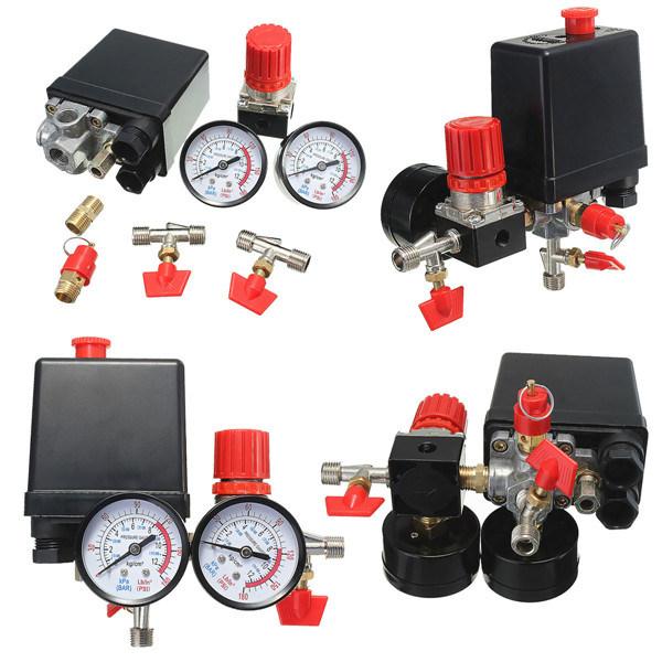 Pressure Gauge of Air Compressor Parts