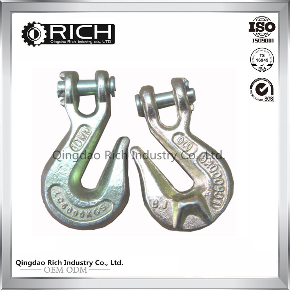 Trade Assured Factory C-Hook Spanner Wrenches Adjustable Hook/Steel Forging Part/Grab Hook/Clevis Grab Hook Slide Hook Pull Hook/Rigging
